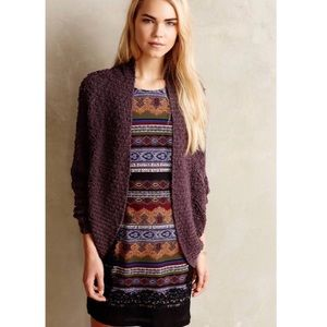 Anthropologie Moth Amherst Cocoon Cardigan Size XS